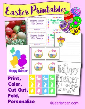 easter printables collection