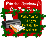 Printable Christmas Party Games shop at LeeHansen.com