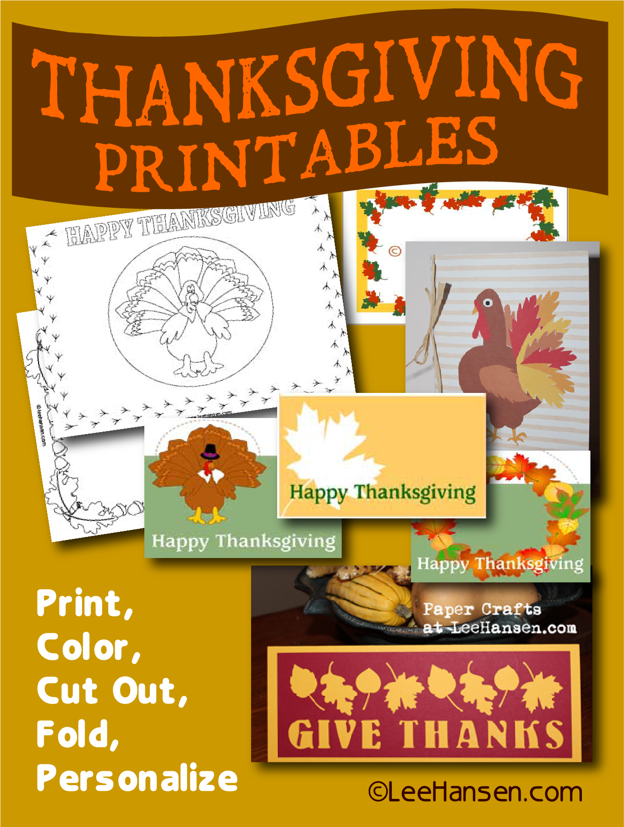 harvest season thanksgiving printables and paper crafts