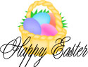 Easter baskey graphic