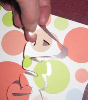 Easily cut out craft paper and card stock letters with a craft cutting machine