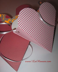 Heart shaped gift boxes