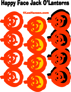 pumpkin garlands