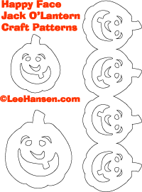 Pumpkin swag die cut shapes