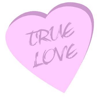 pink candy conversation heart clip art