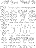 adult pattern design coloring page
