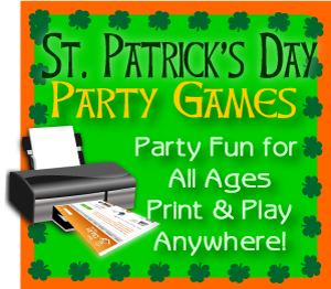 Printable St. Patrick's Day party games